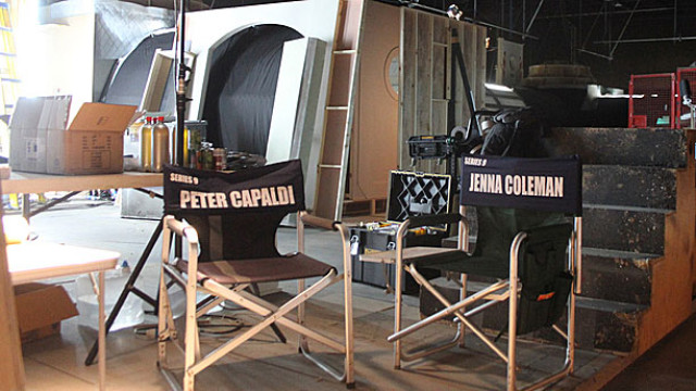 Peter Capaldi and Jenna Coleman's chairs