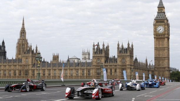 Formula E comes to London. (Pic: FIA Formula E)