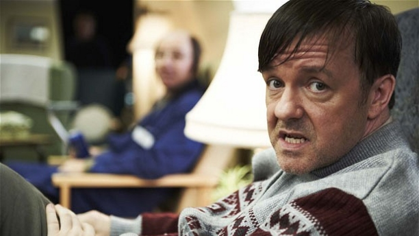 Ricky Gervais in Derek. (Pic: Channel 4)