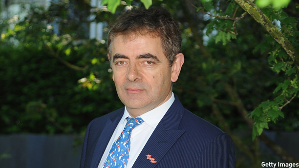 Rowan Atkinson attends the VIP preview day of The Chelsea Flower Show at The Royal Hospital Chelsea on May 19, 2014 in London, England. (Photo: Eamonn M. McCormack/Getty Images)