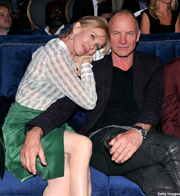 "NEW YORK, NY - MAY 06: Trudie Styler and Sting attend the Showtime's ""PENNY DREADFUL"" world premiere at The High Line Hotel on May 6, 2014 in New York City.  (Photo by Stephen Lovekin/Getty Images for Showtime)"