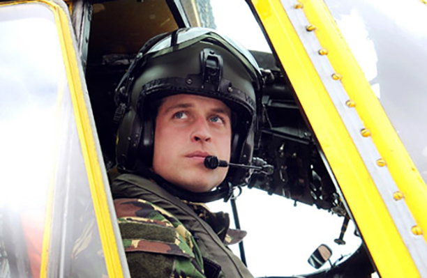 FILE - March 31 2011 file photo of the Duke of Cambridge at the controls of a Sea King helicopter. Britain's  Ministry of Defence has said that Prince William has arrived Thursday Feb. 2 2012 in the Falklands for a tour duty as an RAF search and rescue pilot. The prince's visit has riled Argentina, which claims the islands 290 miles (460 kilometers) off its coast that it calls Las Malvinas. Britain's defense ministry has insisted William's deployment is routine, but Argentina's foreign ministry likened the move to a conquistador's arrival. (AP Photo/ John Stillwell/PA File) UNITED KINGDOM OUT  NO SALES  NO ARCHIVE