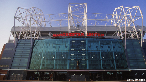 Jan 2001:  General view of Old Trafford, home of Manchester United FC , in Manchester, England.  Mandatory Credit: Gary M Prior/Allsport
