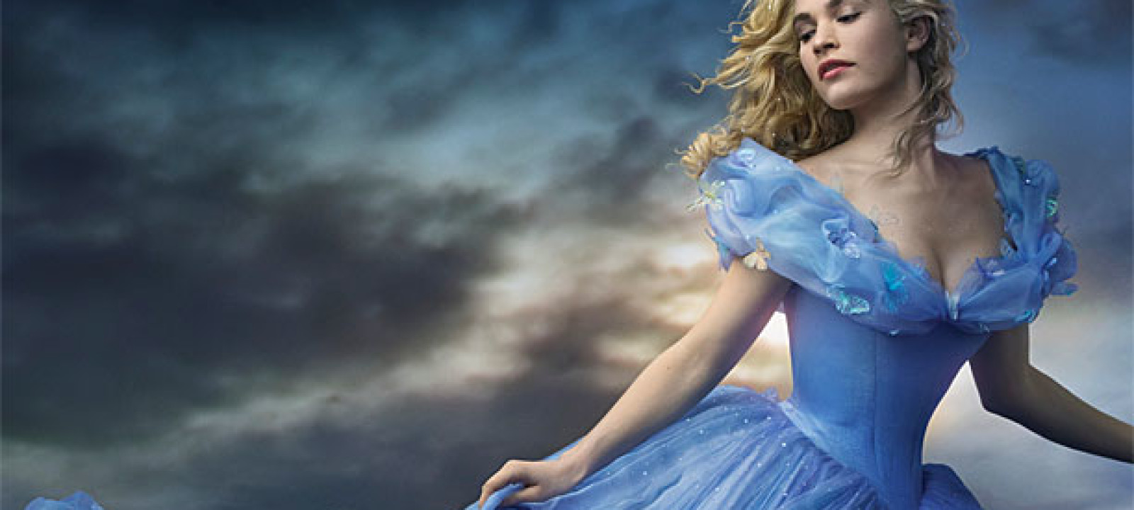 Lily James as Cinderella in 'Cinderella' (Pic: Disney)