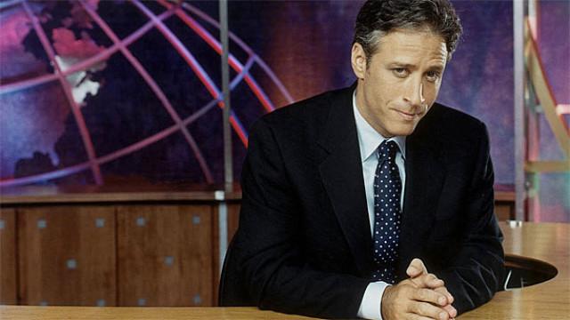 Jon Stewart in 'The Daily Show'