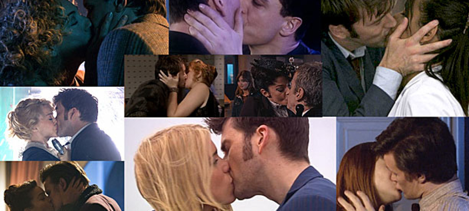 Doctor Who kissing