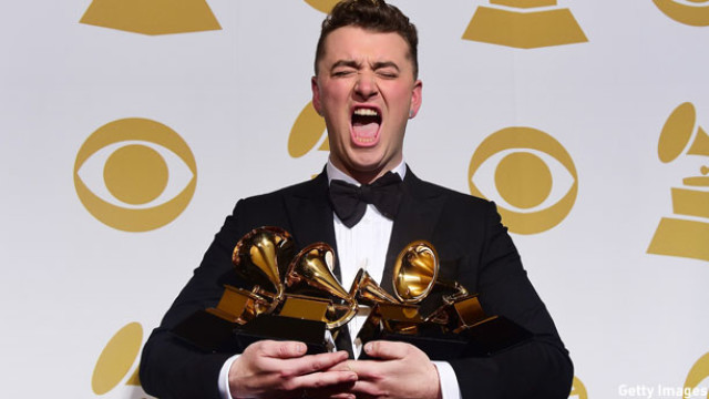 Sam Smith and his Grammy haul
