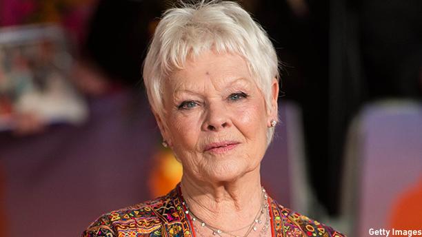 Dame Judi Dench. (Photo: Ian Gavan/Getty Images)
