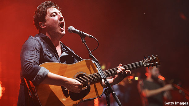Mumford and Sons frontman Marcus Mumford in 2013. (Photo: Stephen Lovekin/Getty Images)
