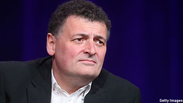Steven Moffat at the 2014 Television Critics Association event. (Photo: Frederick M. Brown/Getty Images)
