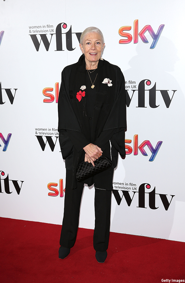 LONDON, ENGLAND - DECEMBER 05:  Vanessa Redgrave attends the Sky Women In Film and TV Awards at London Hilton on December 5, 2014 in London, England.  (Photo by Tim P. Whitby/Getty Images)