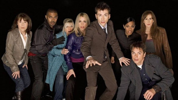 The Doctor and friends (Pic: BBC)