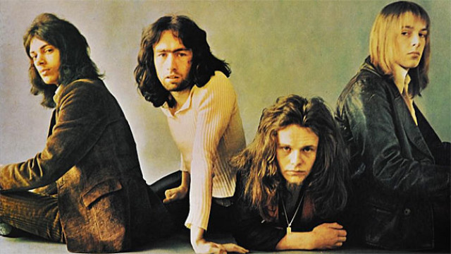 Free (L-R: Andy Fraser, Paul Rodgers, Paul Kossoff, Simon Kirke)