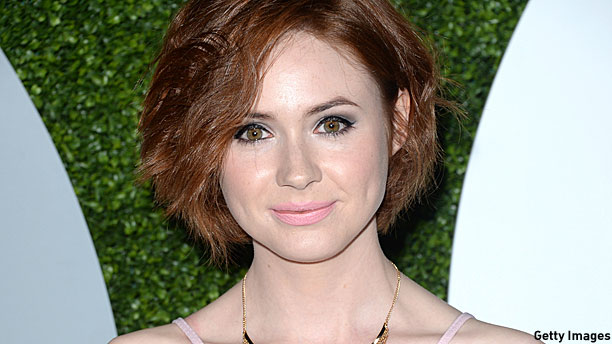 Karen Gillan (Pic: Robyn Beck/Getty Images)