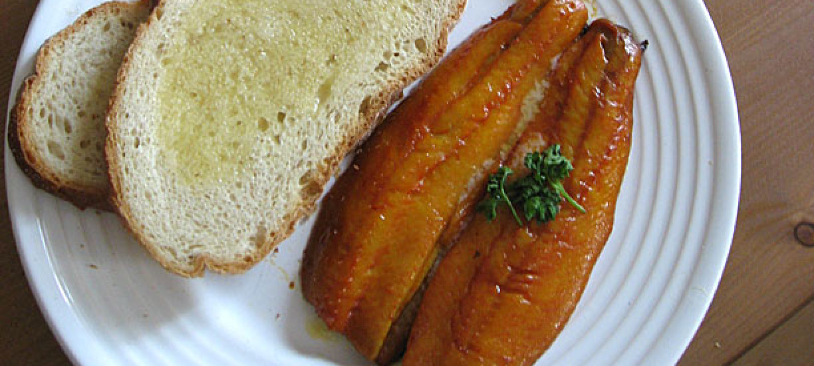 Kippers and toast (Pic: Kai Hendry)