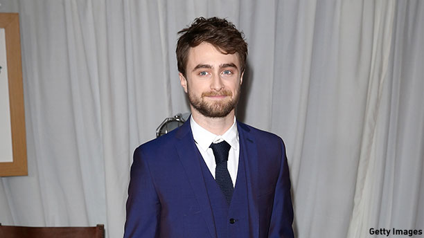 Daniel Radcliffe at the Jameson Empire Awards in London on March 29. (Photo: Tim P. Whitby/Getty Images)