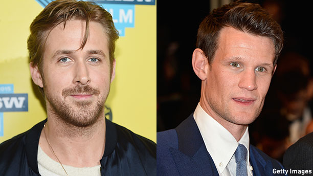 Ryan Gosling and Matt Smith. (Photos: Getty Images)