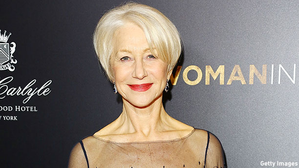 Helen Mirren at the 'Woman in Gold' New York premiere.  (Photo: Astrid Stawiarz/Getty Images)