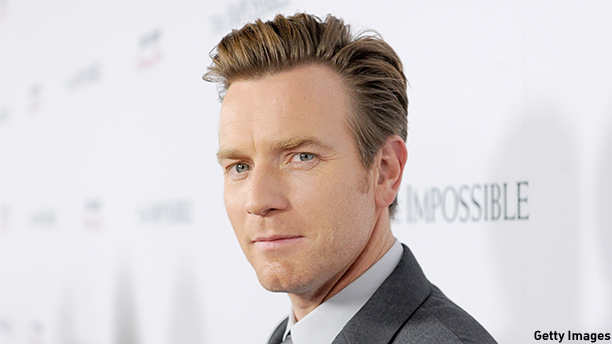 """HOLLYWOOD, CA - DECEMBER 10:  Actor Ewan McGregor attends the Los Angeles premiere of Summit Entertainment's """"The Impossible"""" at ArcLight Cinemas Cinerama Dome on December 10, 2012 in Hollywood, California.  (Jason Merritt/Getty Images)"""