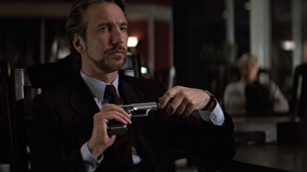 Rickman snuck a note to the director of Die Hard suggesting he wear a suit, and it stuck. (XX)