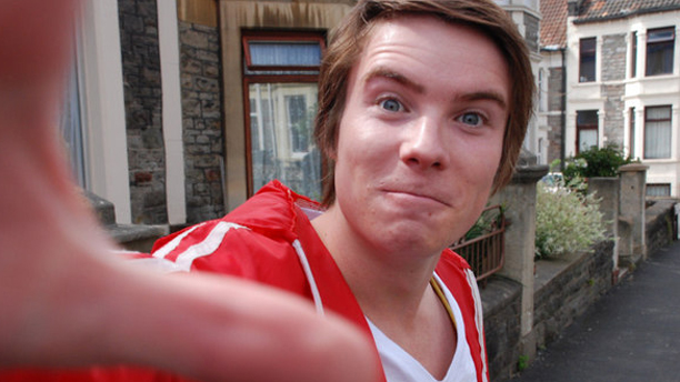 Joe Dempsie as Chris Miles in Skins. (Channel 4)