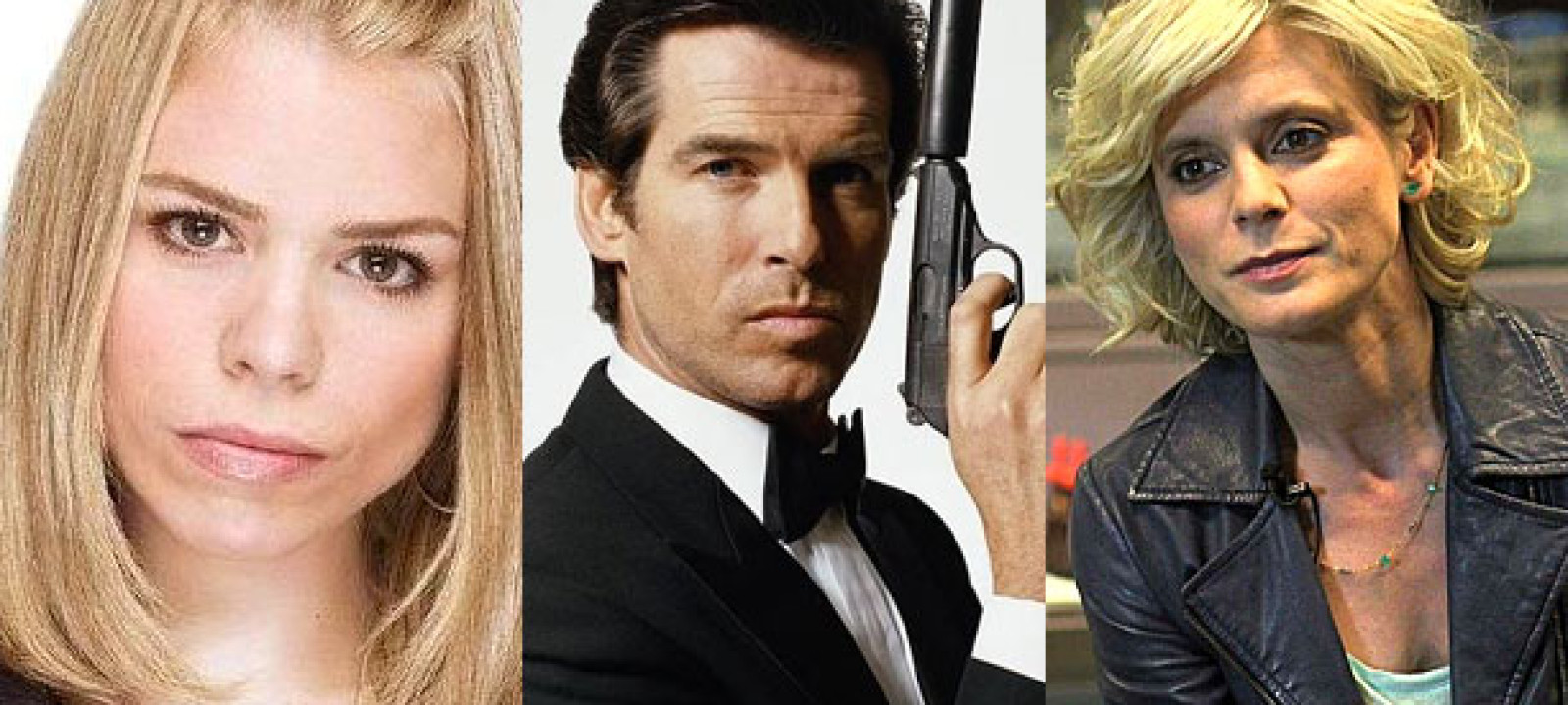 Billie Piper, Pierce Brosnan and Emilia Fox
