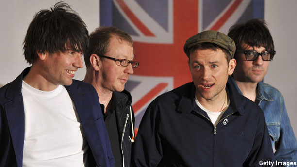 Blur (Pic: Ben Stansall/Getty Images)