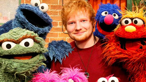 Ed Sheeran on Sesame Street (Pic: Instagram)