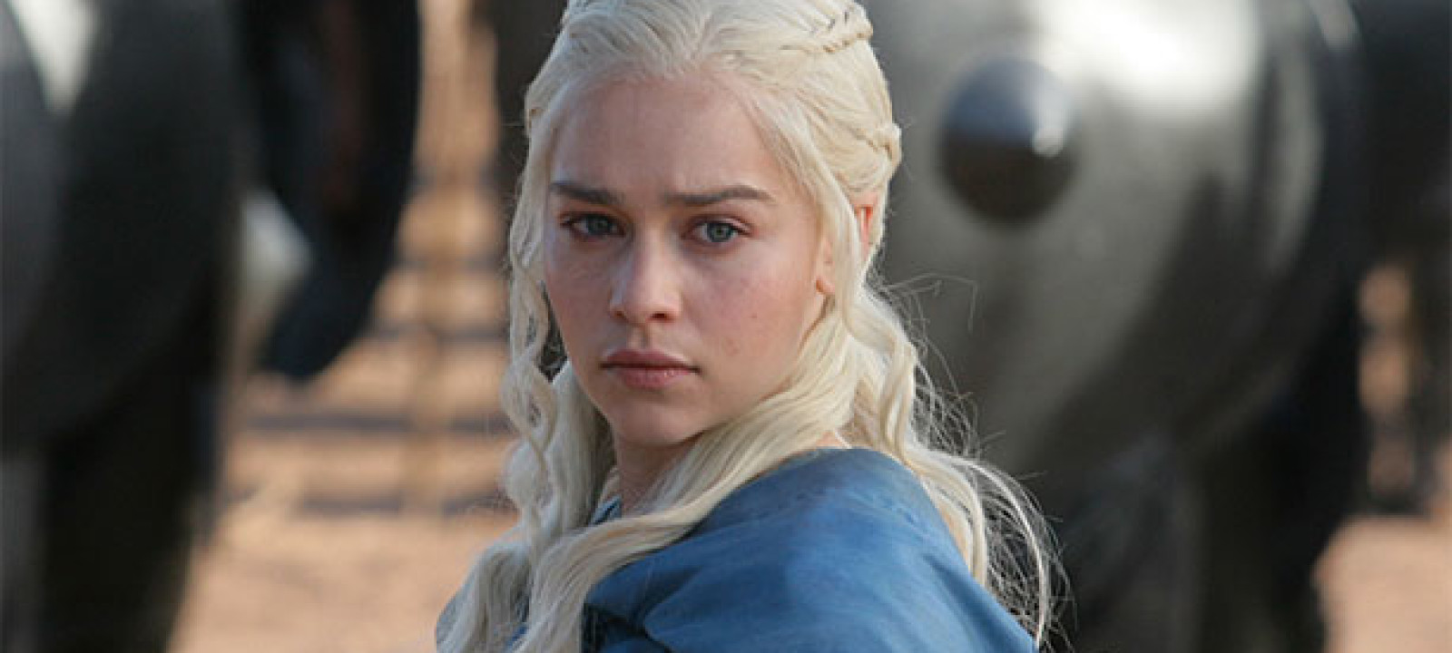 Emelia Clarke as Daenerys Targaryen in 'Game of Thrones' (Pic: HBO)