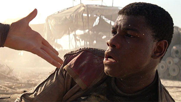 John Boyega in 'Star Wars: The Force Awakens' (Pic: Lucasfilm)