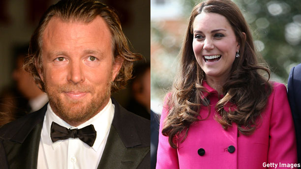 Guy Ritchie and the Duchess of Cambridge (Pics: Anthony Harvey/Chris Jackson/Getty Images)
