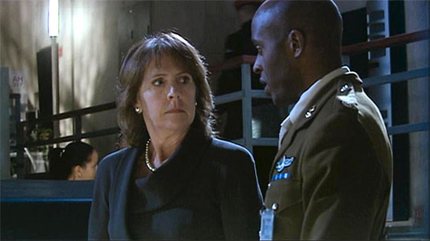 Penelope Wilton as Harriet Jones, Prime Minister in 'Doctor Who' (Pic: BBC)