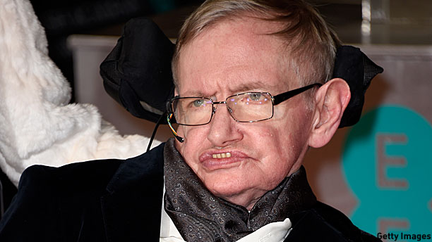 Stephen Hawking (Pic: Ian Gavan/Getty Images)