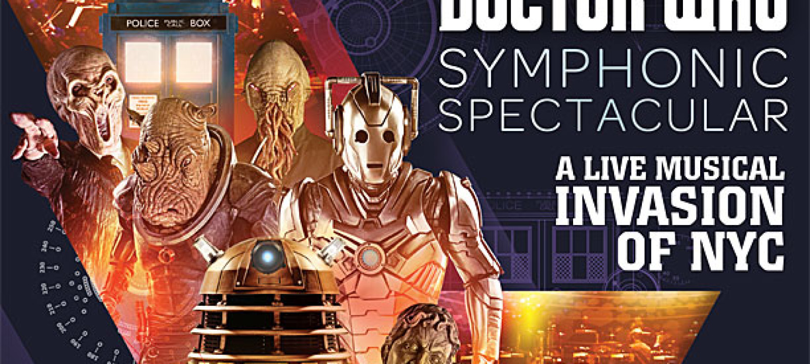'Doctor Who' Symphonic Spectacular poster (Pic: BBC)