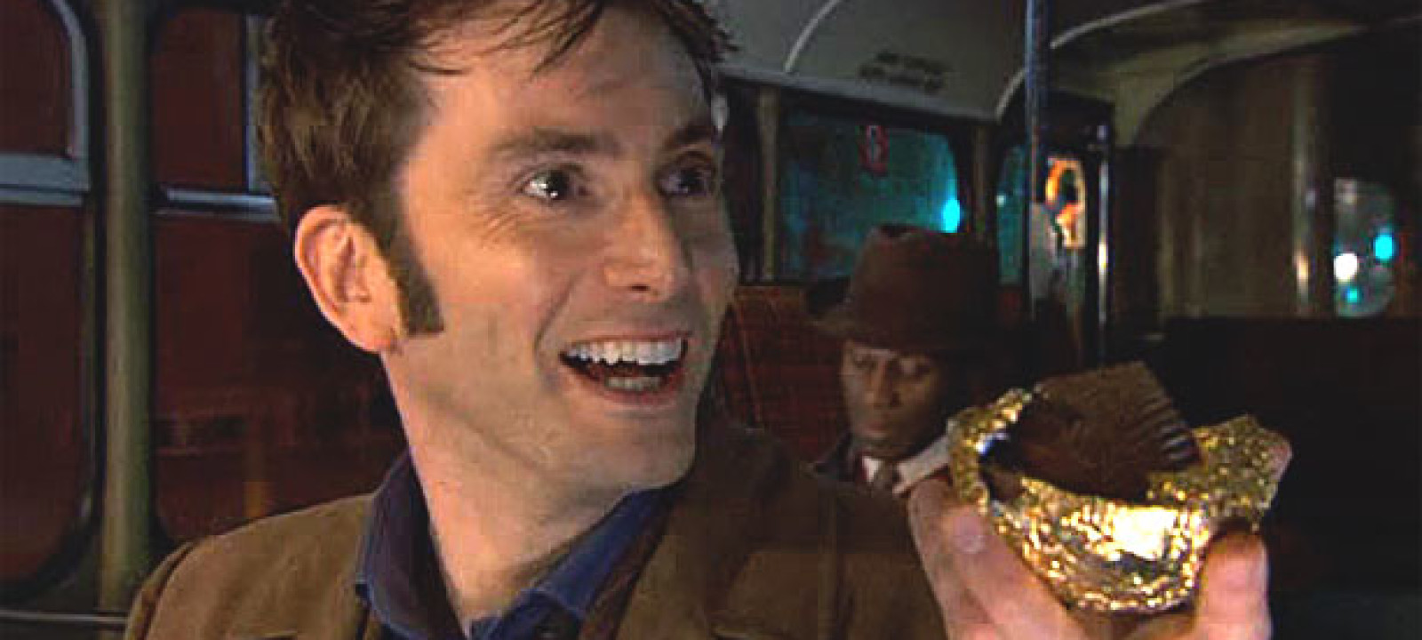The Tenth Doctor and his Easter egg