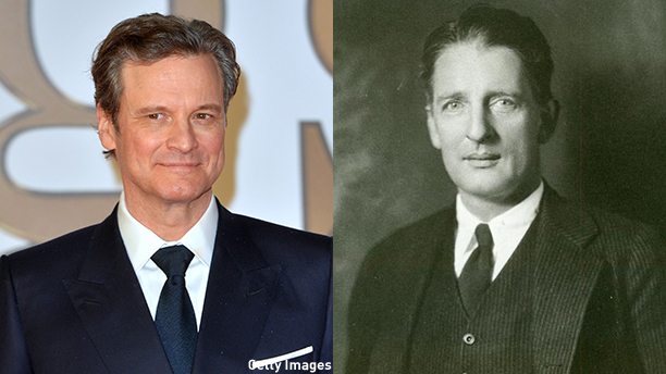 Colin Firth set to star as editor Max Perkins in Genius. (Getty Images/AU)