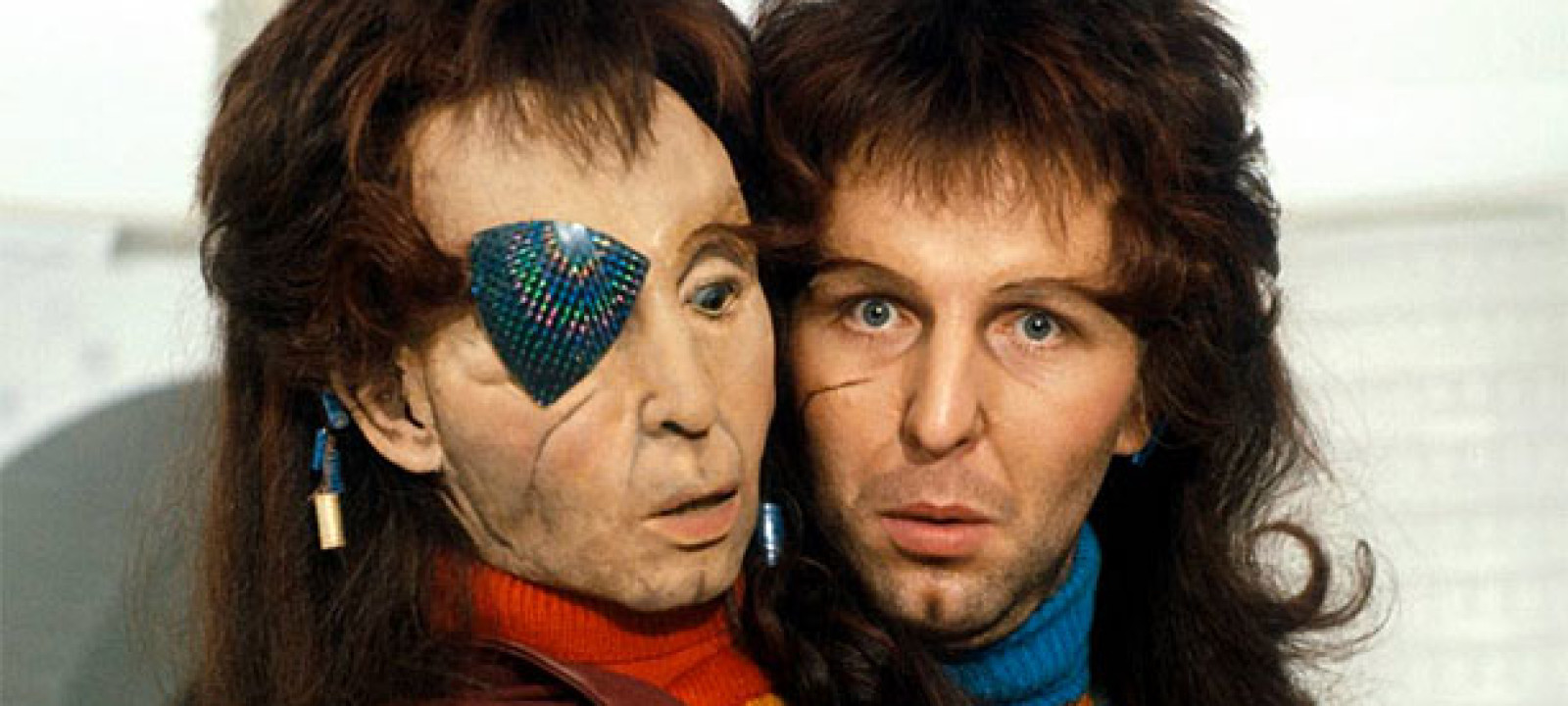 Mark Wing-Davey as Zaphod Beeblebrox (Pic: BBC)