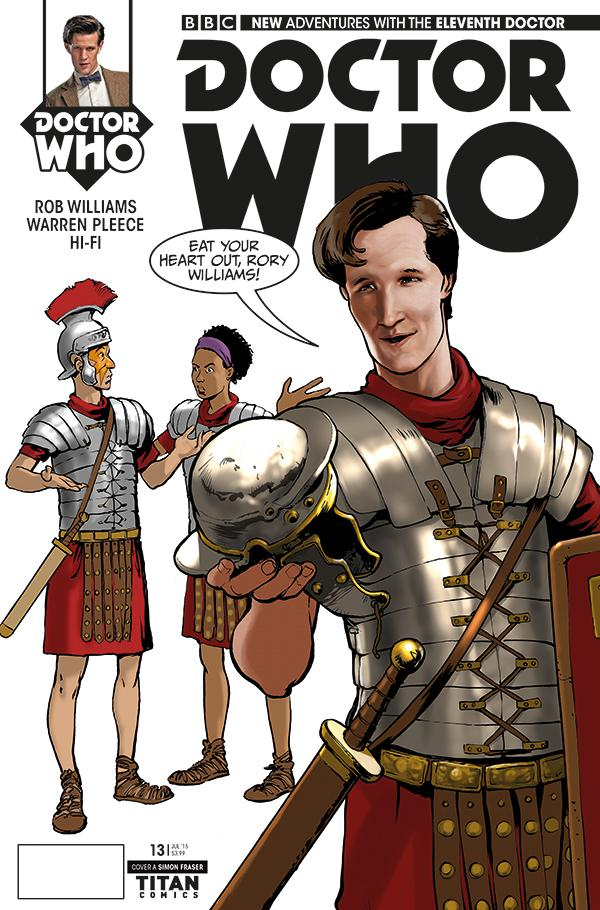 Doctor Who Titan Comics cover (Pic: Titan Comics)