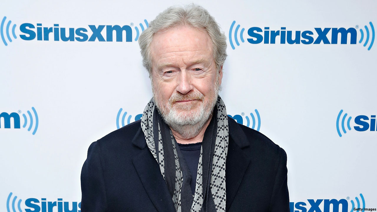 Sir Ridley Scott, director of 'The Martian'. (Photo: Cindy Ord/Getty Images)