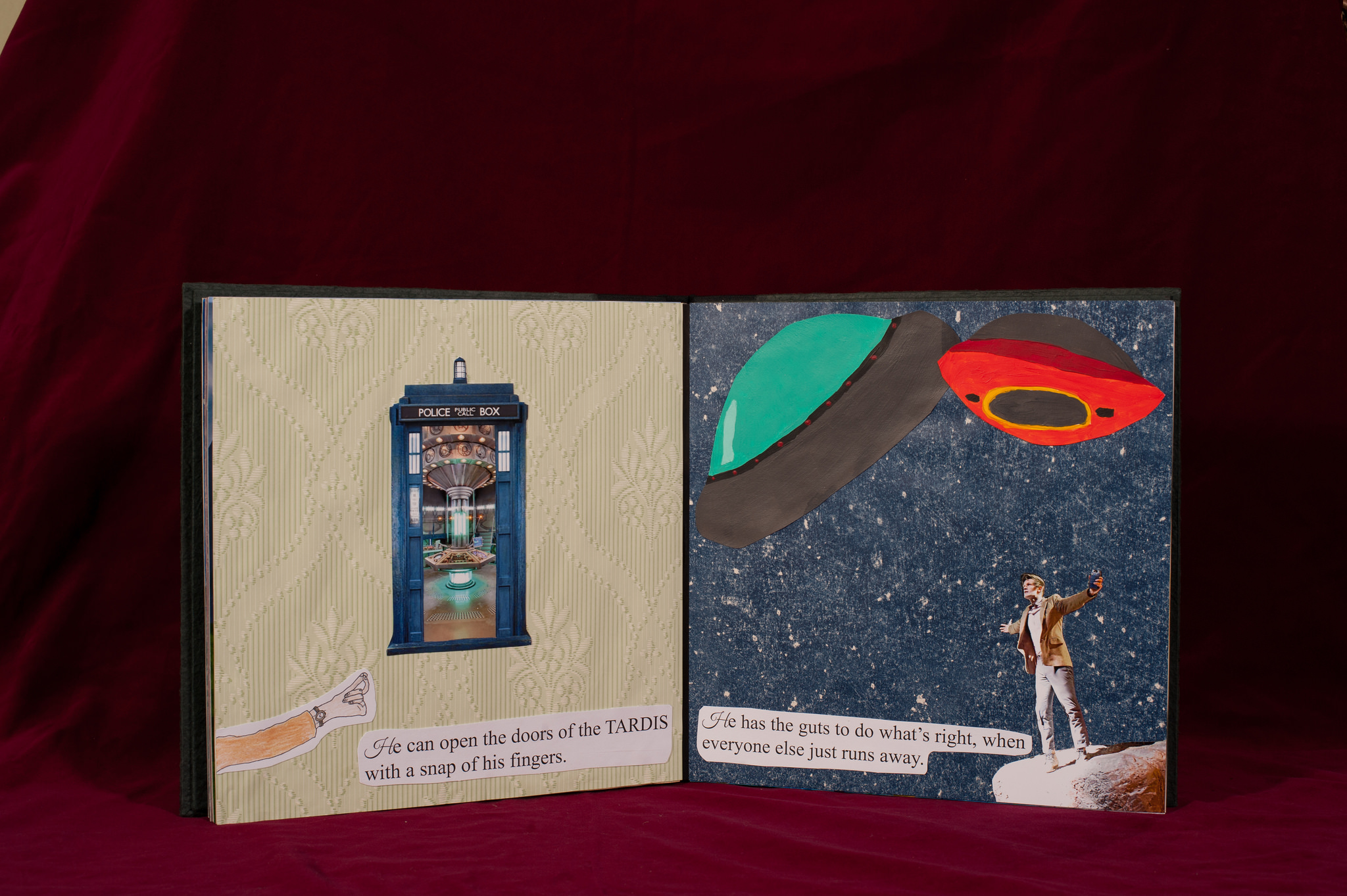 Allie Nelson's 'Doctor Who' storybook.