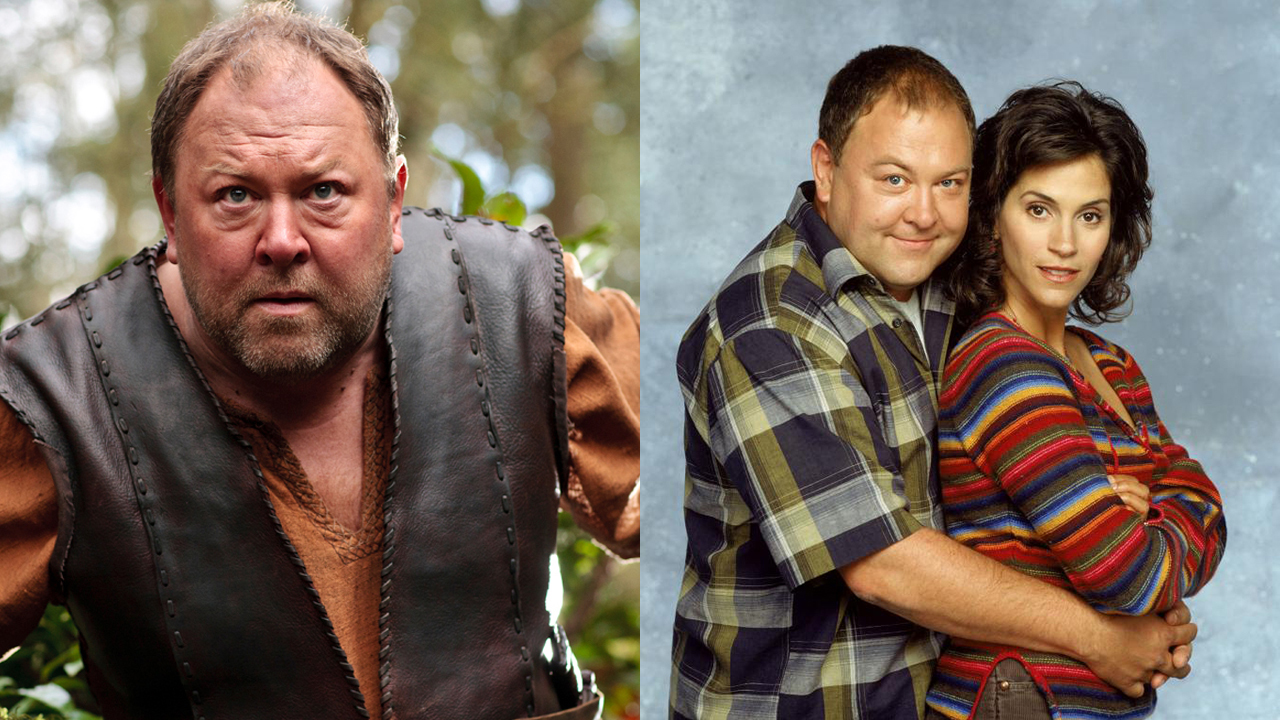 Mark Addy stars as Hercules in Atlantis and Bill Miller in Still Standing, opposite Jami Getz. (BBCA/CBS)