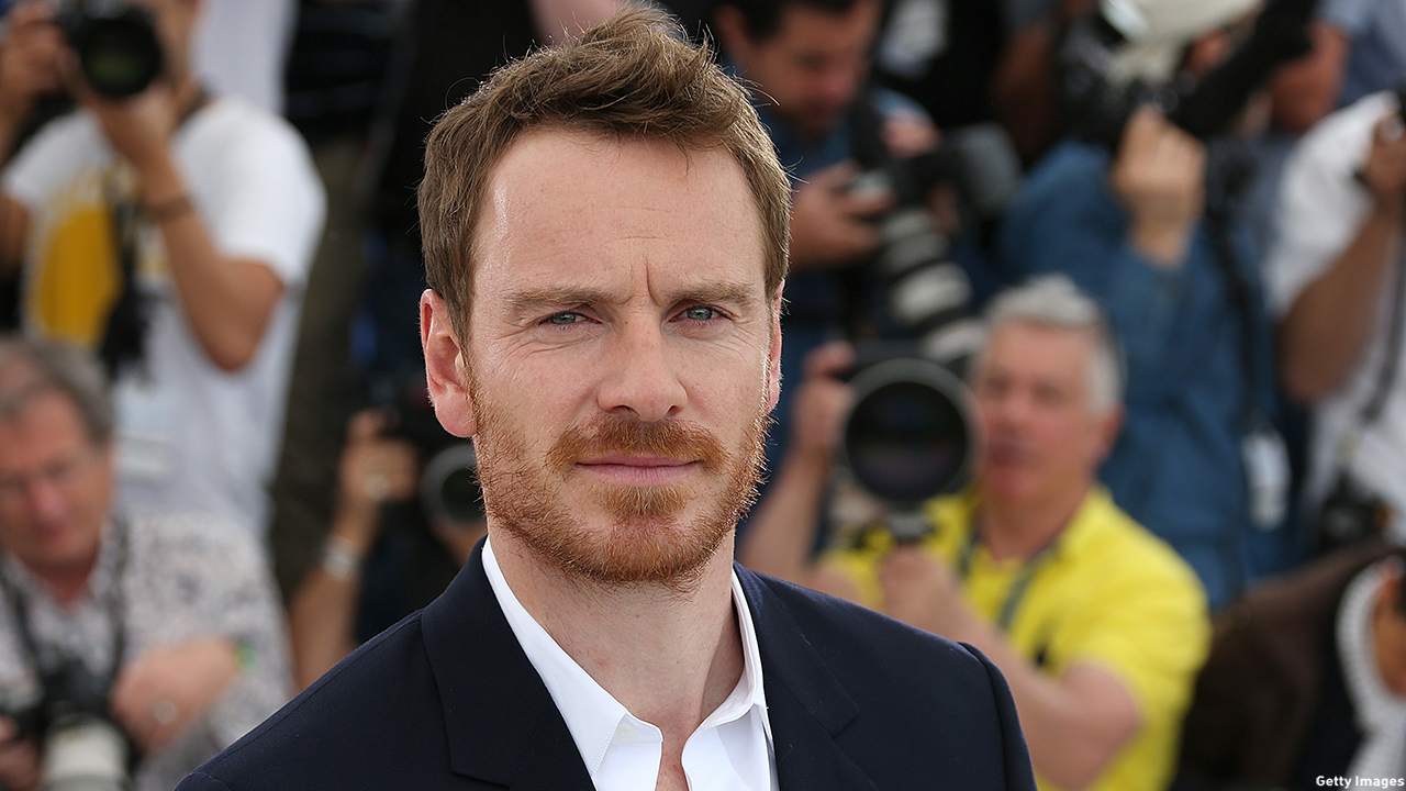 Michael Fassbender arrives to the premiere of Macbeth at the 2015 Cannes Film Festival. (Valery Hache/AFP/Getty Images)
