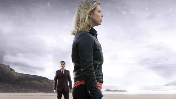 David Tennant and Billie Piper in 'Doomsday' (Pic: BBC)
