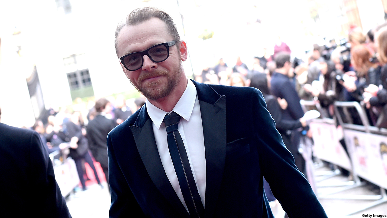 LONDON, ENGLAND - MARCH 29:  Simon Pegg attends the Jameson Empire Awards 2015 at Grosvenor House Hotel on March 29, 2015 in London, England.  (Photo by Gareth Cattermole/Getty Images)
