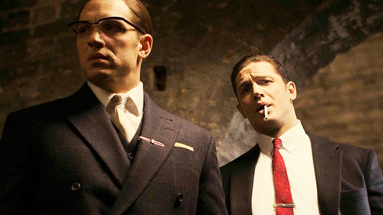 Tom Hardy stars as the Kray brothers in Legend. (Working Title Films)