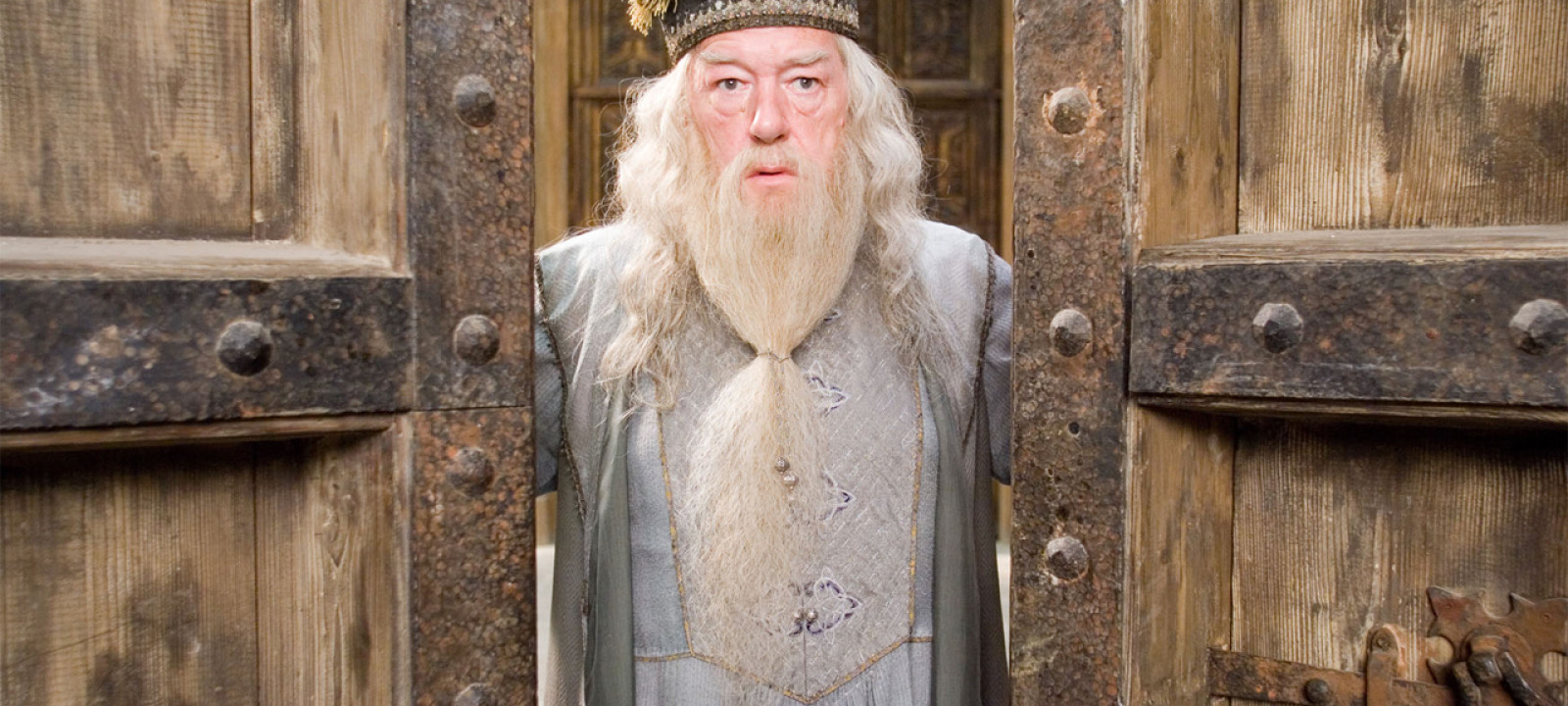 Professor Dumbledore will see you now. (Pic: Warner Bros.)