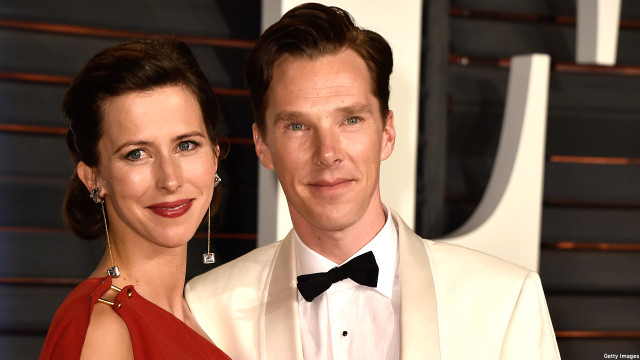 Benedict Cumberbatch and Sophie Hunter (Pic: Pascal Le Segretain/Getty Images)