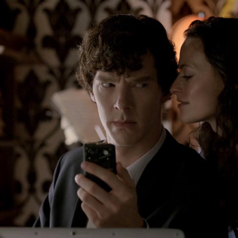 Sherlock 'A Scandal in Belgravia' (Pic: BBC)