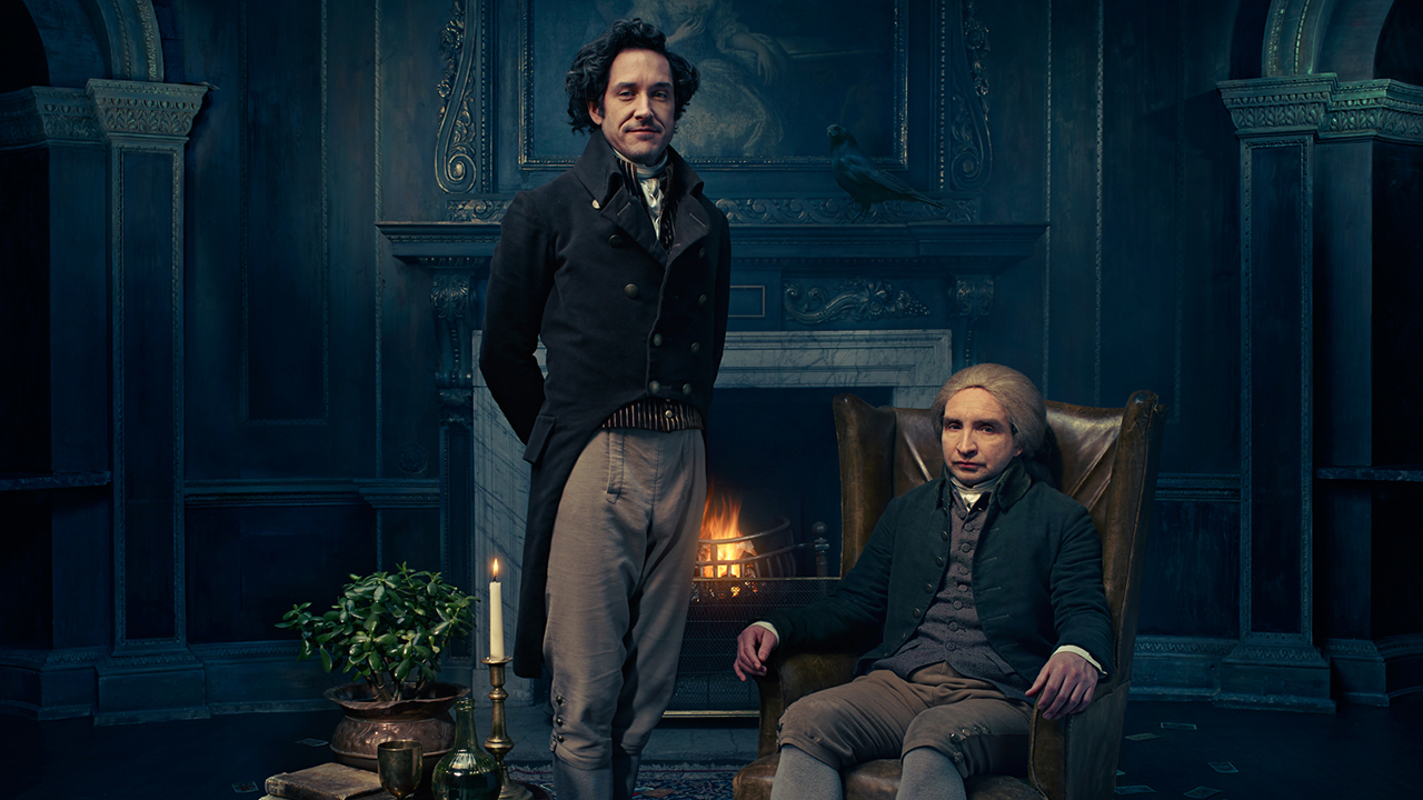 Bertie Carvel and Eddie Marsan are 'Jonathan Strange & Mr. Norrell.' (Pic: BBC)
