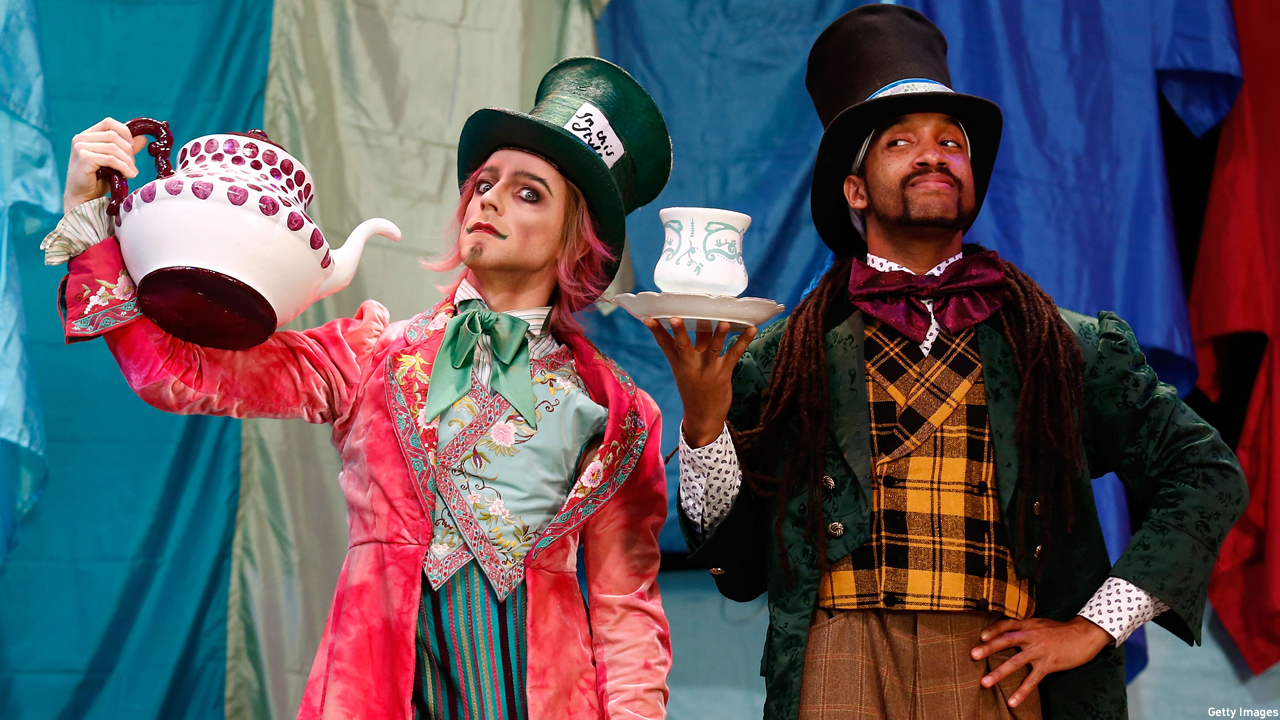 The Mad Hatters' Tea Party (Pic: Tim P. Whitby/Getty Images)
